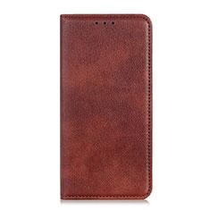 Coque Portefeuille Livre Cuir Etui Clapet pour Asus Zenfone Max Plus M2 ZB634KL Marron