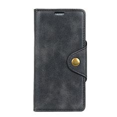 Coque Portefeuille Livre Cuir Etui Clapet pour HTC Desire 12 Plus Noir