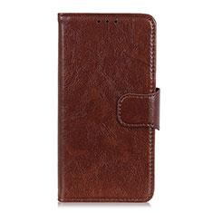 Coque Portefeuille Livre Cuir Etui Clapet pour HTC Desire 19 Plus Marron