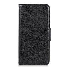 Coque Portefeuille Livre Cuir Etui Clapet pour HTC Desire 19 Plus Noir