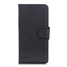 Coque Portefeuille Livre Cuir Etui Clapet pour HTC U19E Noir