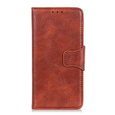 Coque Portefeuille Livre Cuir Etui Clapet pour Huawei Honor 9X Lite Marron