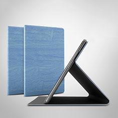 Coque Portefeuille Livre Cuir Etui Clapet pour Huawei Honor Pad 5 10.1 AGS2-W09HN AGS2-AL00HN Bleu Ciel