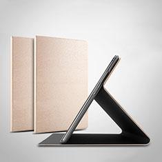 Coque Portefeuille Livre Cuir Etui Clapet pour Huawei Honor Pad 5 10.1 AGS2-W09HN AGS2-AL00HN Or