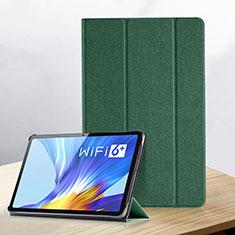 Coque Portefeuille Livre Cuir Etui Clapet pour Huawei Honor Pad V6 10.4 Vert