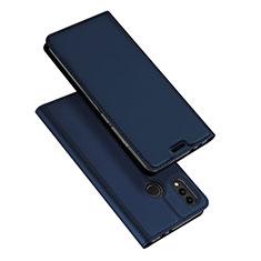 Coque Portefeuille Livre Cuir Etui Clapet pour Huawei Honor Play 8C Bleu