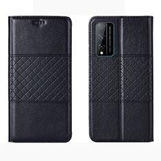 Coque Portefeuille Livre Cuir Etui Clapet pour Huawei Honor Play4T Pro Noir