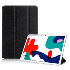 Coque Portefeuille Livre Cuir Etui Clapet pour Huawei MatePad 10.4 Noir