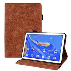 Coque Portefeuille Livre Cuir Etui Clapet pour Huawei MatePad 10.8 Marron