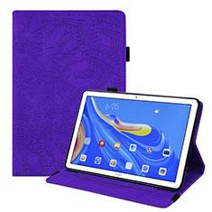 Coque Portefeuille Livre Cuir Etui Clapet pour Huawei MatePad 10.8 Violet