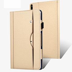 Coque Portefeuille Livre Cuir Etui Clapet pour Huawei MatePad Pro 5G 10.8 Or