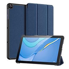 Coque Portefeuille Livre Cuir Etui Clapet pour Huawei MatePad T 10s 10.1 Bleu