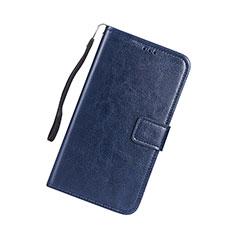 Coque Portefeuille Livre Cuir Etui Clapet pour Huawei P Smart (2019) Bleu