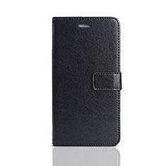 Coque Portefeuille Livre Cuir Etui Clapet pour Huawei Y5 (2018) Noir