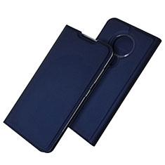 Coque Portefeuille Livre Cuir Etui Clapet pour Nokia 6.2 Bleu