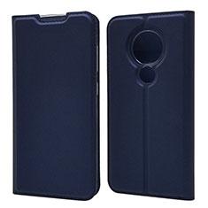 Coque Portefeuille Livre Cuir Etui Clapet pour Nokia 7.2 Bleu