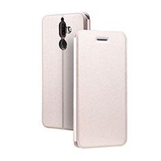 Coque Portefeuille Livre Cuir Etui Clapet pour Nokia 7 Plus Rose