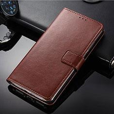 Coque Portefeuille Livre Cuir Etui Clapet pour Nokia 9 PureView Marron