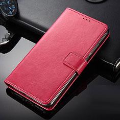 Coque Portefeuille Livre Cuir Etui Clapet pour Nokia 9 PureView Rouge