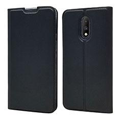 Coque Portefeuille Livre Cuir Etui Clapet pour OnePlus 7 Noir