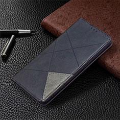 Coque Portefeuille Livre Cuir Etui Clapet pour Oppo A15 Noir