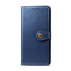 Coque Portefeuille Livre Cuir Etui Clapet pour Realme 6i Bleu