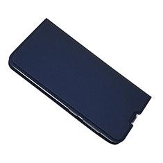 Coque Portefeuille Livre Cuir Etui Clapet pour Samsung Galaxy A50 Bleu