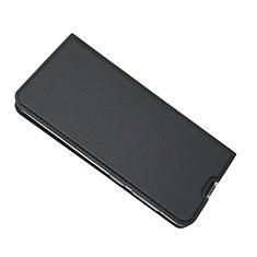 Coque Portefeuille Livre Cuir Etui Clapet pour Samsung Galaxy A50 Noir