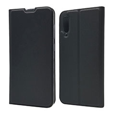 Coque Portefeuille Livre Cuir Etui Clapet pour Samsung Galaxy A70 Noir