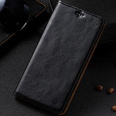 Coque Portefeuille Livre Cuir Etui Clapet pour Samsung Galaxy A81 Noir