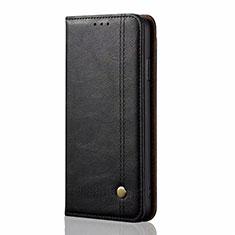 Coque Portefeuille Livre Cuir Etui Clapet pour Samsung Galaxy M21s Noir