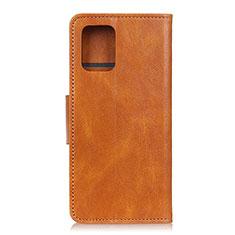 Coque Portefeuille Livre Cuir Etui Clapet pour Samsung Galaxy S10 Lite Orange