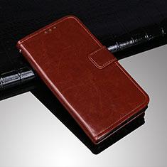 Coque Portefeuille Livre Cuir Etui Clapet pour Sony Xperia 10 Plus Marron