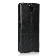 Coque Portefeuille Livre Cuir Etui Clapet pour Sony Xperia 8 Lite Noir