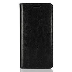 Coque Portefeuille Livre Cuir Etui Clapet pour Sony Xperia XZ2 Noir