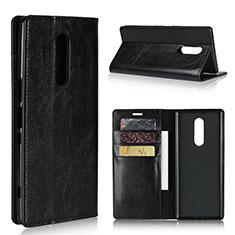 Coque Portefeuille Livre Cuir Etui Clapet pour Sony Xperia XZ4 Noir