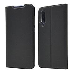 Coque Portefeuille Livre Cuir Etui Clapet pour Xiaomi Mi A3 Lite Noir