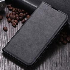 Coque Portefeuille Livre Cuir Etui Clapet pour Xiaomi Mi Note 10 Noir