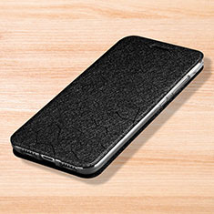 Coque Portefeuille Livre Cuir Etui Clapet pour Xiaomi Mi Play 4G Noir
