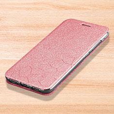 Coque Portefeuille Livre Cuir Etui Clapet pour Xiaomi Mi Play 4G Rose