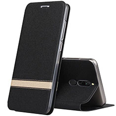 Coque Portefeuille Livre Cuir Etui Clapet pour Xiaomi Redmi 8 Noir