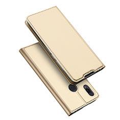 Coque Portefeuille Livre Cuir Etui Clapet pour Xiaomi Redmi Note 7 Pro Or