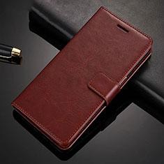 Coque Portefeuille Livre Cuir Etui Clapet pour Xiaomi Redmi Note 8 Pro Marron