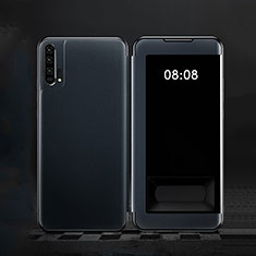 Coque Portefeuille Livre Cuir Etui Clapet T01 pour Huawei Honor 20 Pro Bleu