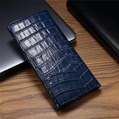 Coque Portefeuille Livre Cuir Etui Clapet T01 pour Huawei Mate Xs 5G Bleu