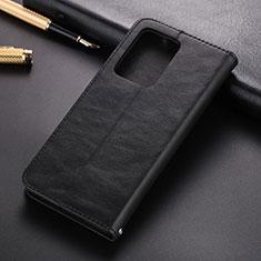 Coque Portefeuille Livre Cuir Etui Clapet T01 pour Samsung Galaxy S20 Ultra Noir