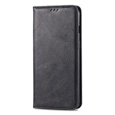 Coque Portefeuille Livre Cuir Etui Clapet T02 pour Huawei Honor 20 Lite Noir
