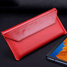 Coque Portefeuille Livre Cuir Etui Clapet T02 pour Huawei Mate Xs 5G Rouge