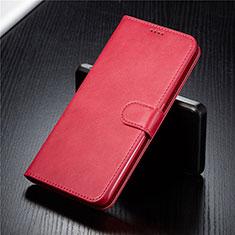 Coque Portefeuille Livre Cuir Etui Clapet T03 pour Samsung Galaxy A90 4G Rouge