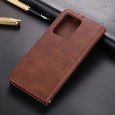 Coque Portefeuille Livre Cuir Etui Clapet T03 pour Samsung Galaxy S20 Plus Marron